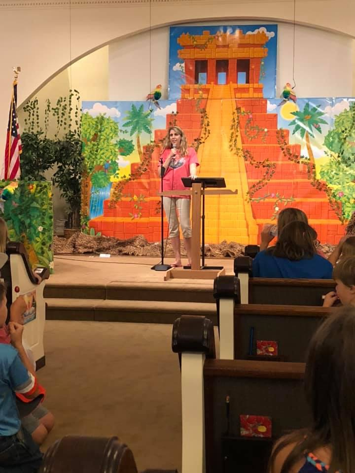 Lafayette Heights Baptist Church; VBS; Vacation Bible School