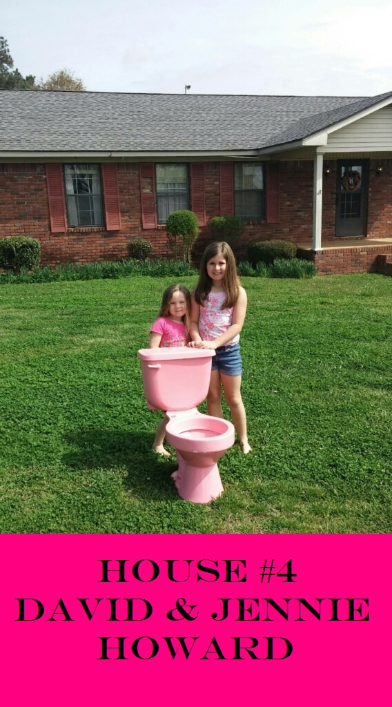 pink potty house four